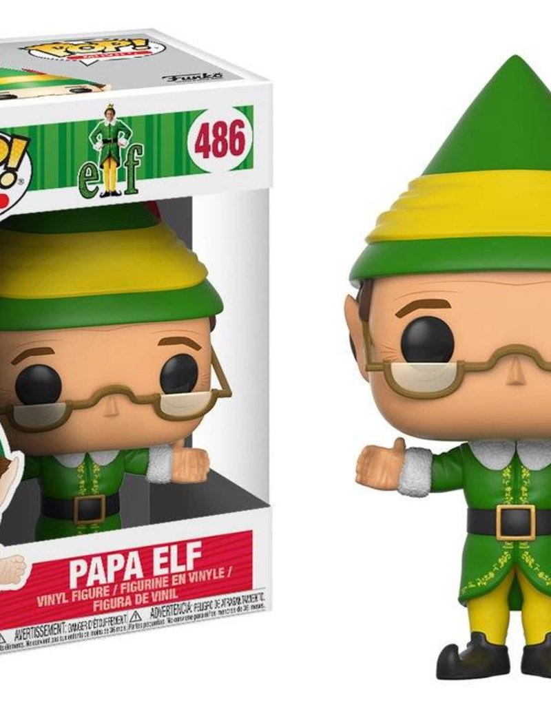 FUNKO POP ELF PAPA ELF VINYL FIG