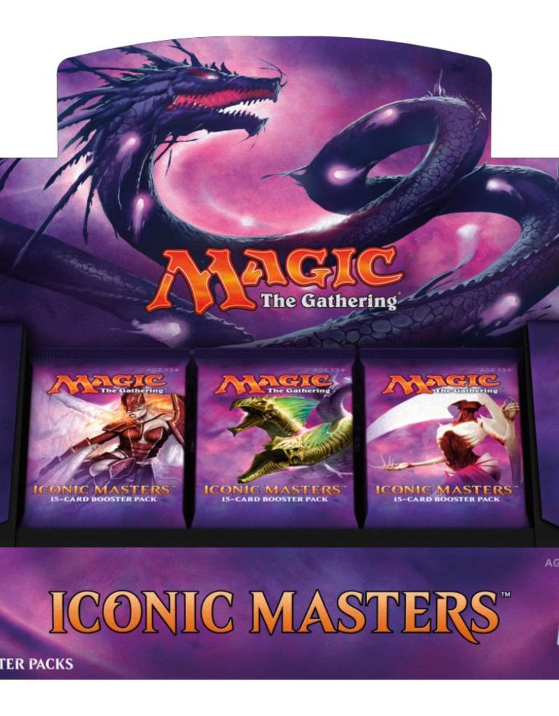 WIZARDS OF THE COAST ICONIC MASTERS BOOSTER BOX