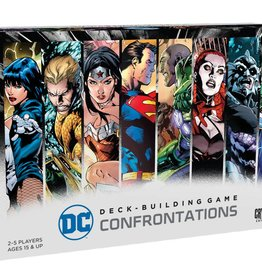CRYPTOZOIC ENTERTAINMENT DC DECK-BUILDING GAME CONFRONTATIONS