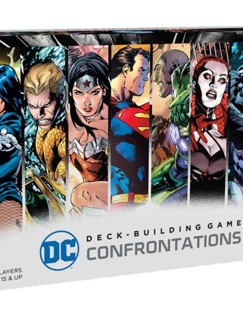 CRYPTOZOIC ENTERTAINMENT DC DECK-BUILDING GAME CONFRONTATIONS