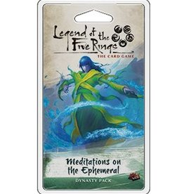 FANTASY FLIGHT GAMES Legend of the Five Rings LCG: Meditations on the Ephemeral Dynasty Pack