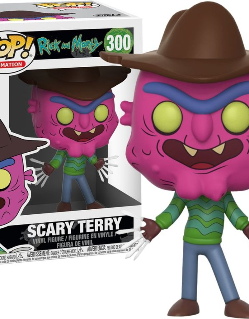 POP RICK AND MORTY SCARRY TERRY VINYL FIG