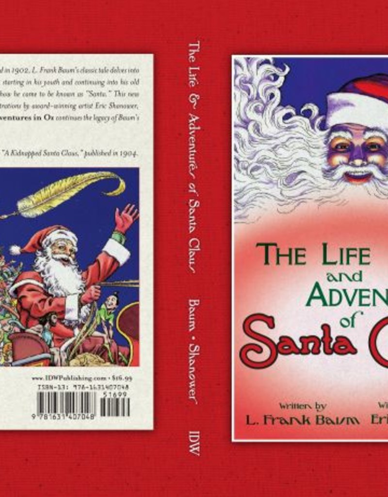 IDW PUBLISHING LIFE & ADVENTURES OF SANTA CLAUS HC ILLUS ERIC SHANOWER