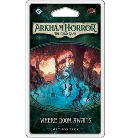 FANATASY FLIGHT GAMES ARKHAM HORROR LCG A WHERE DOOM AWAITS PACK