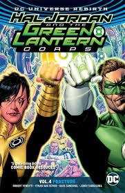 DC COMICS HAL JORDAN & THE GLC TP VOL 04 FRACTURE (REBIRTH)