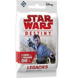 FANTASY FLIGHT GAMES STAR WARS DESTINY LEGACIES BOOSTER BOX
