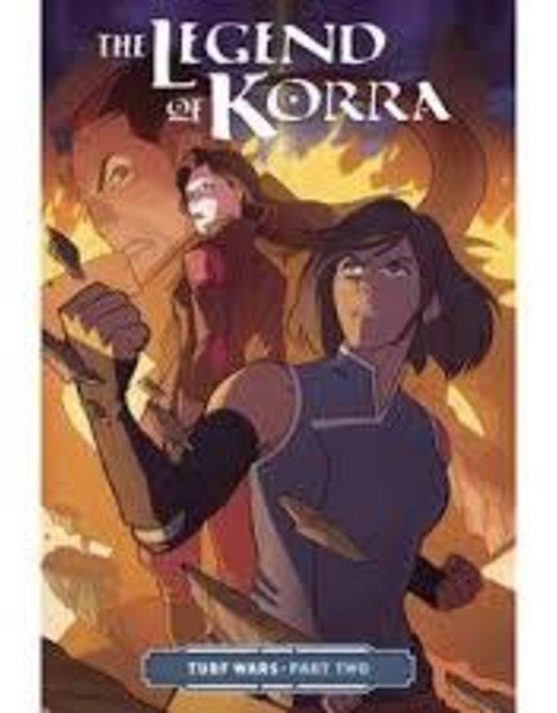 dark horse comics legend of korra tp vol 02 turf wars pt 2