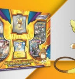 VIZ MEDIA LLC POKEMON TCG ALOLAN RAICHU FIGURE BOX
