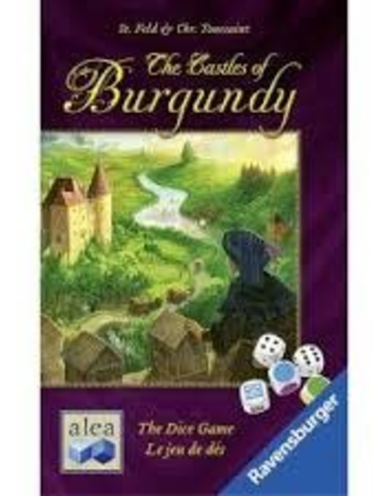 RAVENSBURGER THE CASTLES OF BURGUNDY THE DICE GAME