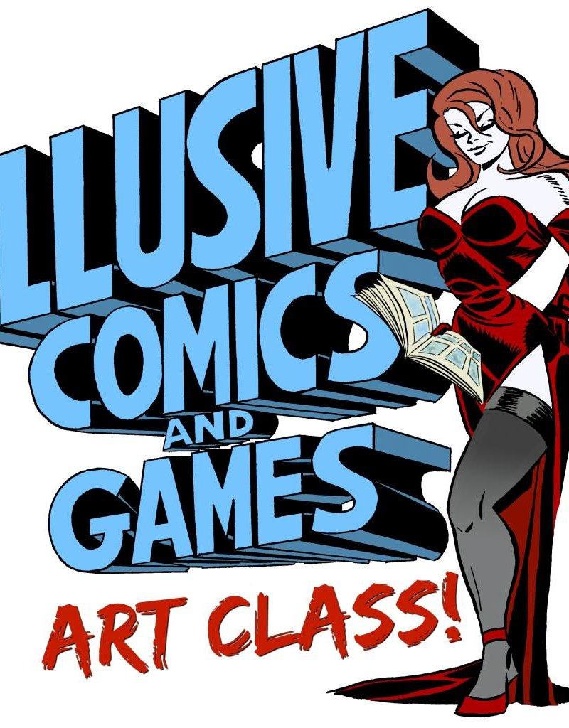 ADULT'S ART CLASS 2/17/18