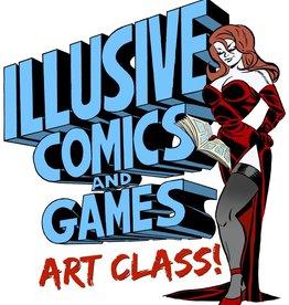 ADULT'S ART CLASS 2/24/18