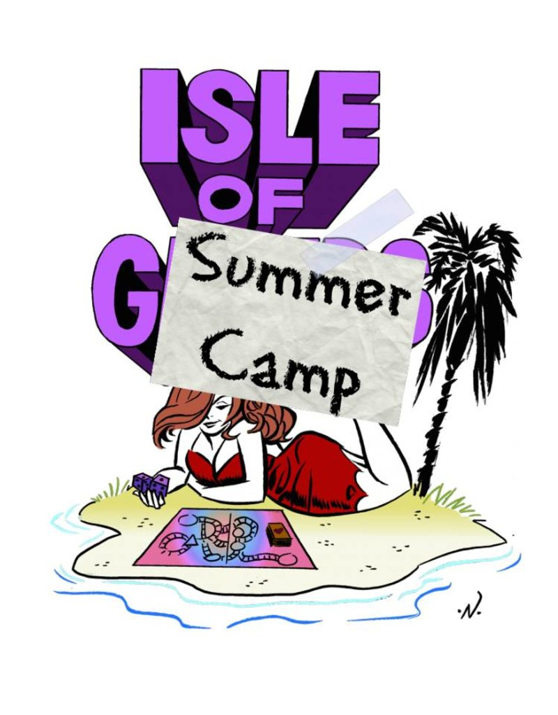 SUMMER CAMP SESSION FOUR: ​INTERMEDIATE D&D July 9 - 13