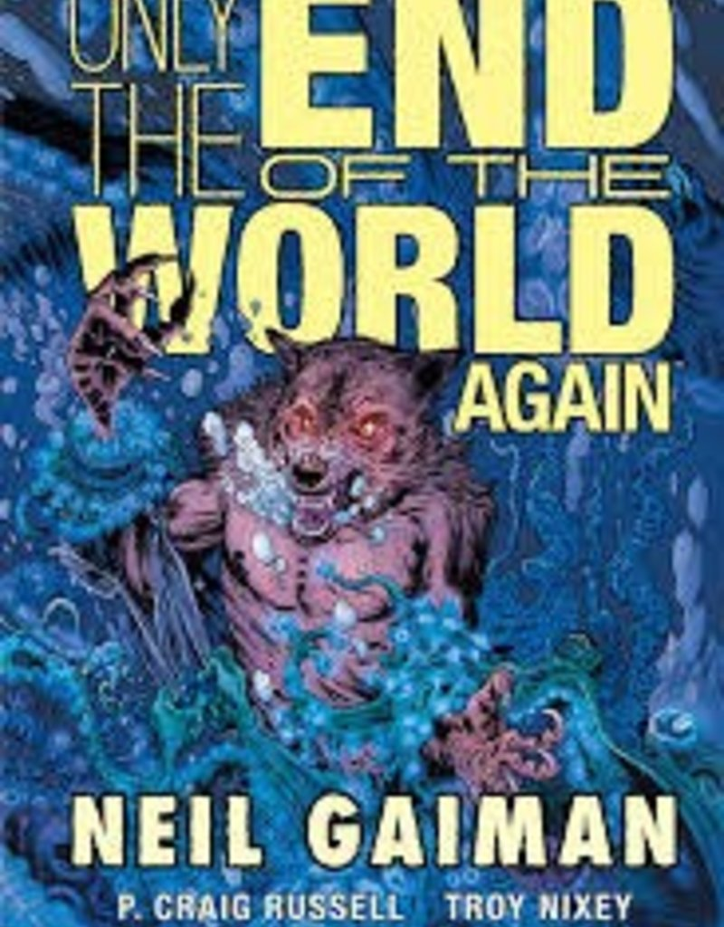 DARK HORSE COMICS ONLY END OF THE WORLD AGAIN HC