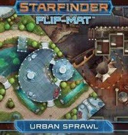PAIZO STARFINDER FLIP-MAT URBAN SPRAWL