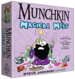 STEVE JACKSON GAMES MUNCHKIN MAGICAL MESS