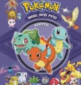 VIZ MEDIA LLC POKEMON SEEK & FIND HC KANTO