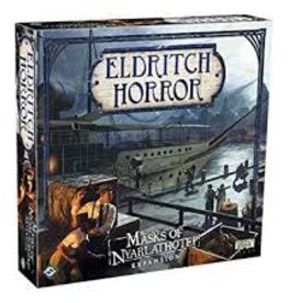 FANTASY FLIGHT GAMES ELDRITCH HORROR MASKS OF NYARLATHOTEP EXP