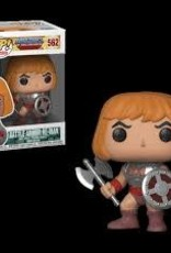 FUNKO POP MASTERS OF THE UNIVERSE BATTLE ARMORED HE-MAN VINYL FIG