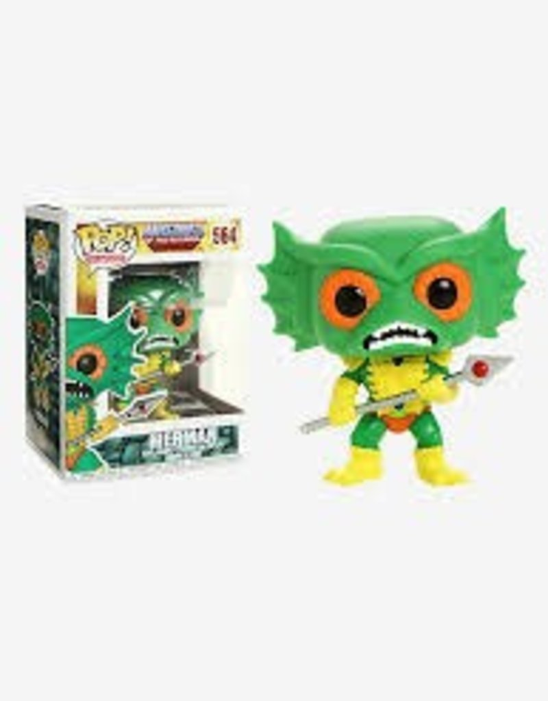 FUNKO POP MASTERS OF THE UNIVERSE MERMAN VINYL FIG