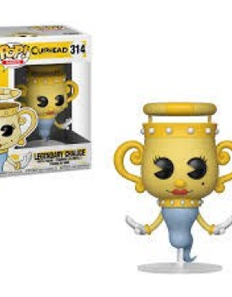 FUNKO POP CUPHEAD S1 LEGENDARY CHALICE VINYL FIG