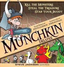 STEVE JACKSON GAMES MUNCHKIN CARD GAME DELUXE ED