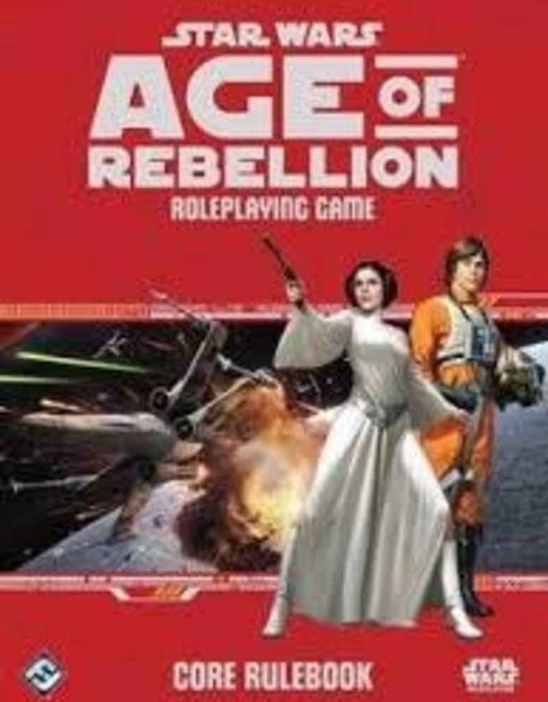 STAR WARS RPG AGE OF REBELLION CORE RULEBOOK