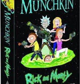 STEVE JACKSON GAMES RICK AND MORTY MUNCHKIN