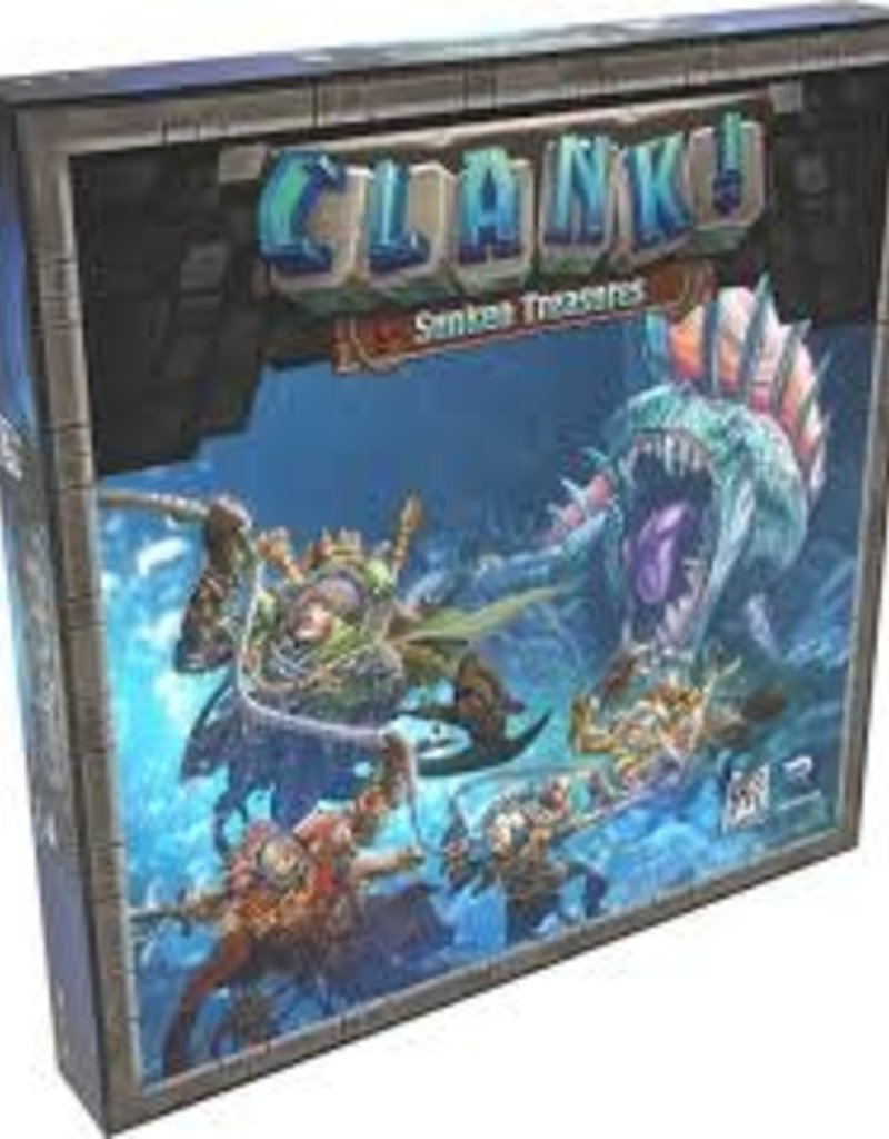 RENEGADE GAME STUDIOS CLANK SUNKEN TREASURES EXP