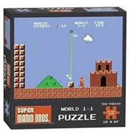 USAOPOLY SUPER MARIO BROS WORLD 1-1 PUZZLE 550 PIECES