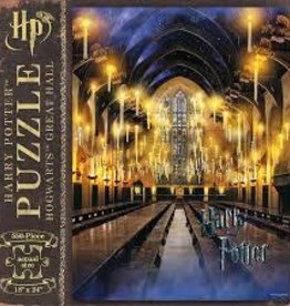 USAOPOLY HARRY POTTER HOGWARTS GREAT HALL PUZZLE 550 PIECES