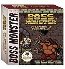 BROTHERWISE GAMES BOSS MONSTER IMPLEMENTS OF DESTRUCTION EXP