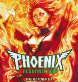 MARVEL COMICS PHOENIX RESURRECTION RETURN JEAN GREY TP ARTGERM DM VAR