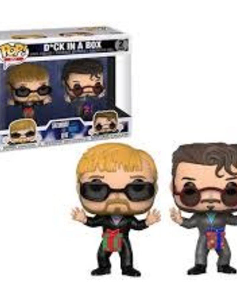 FUNKO POP SNL D*CK IN A BOX 2 PK VINYL FIG