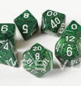 CHESSEX CHX 25325 7 PC POLY DICE SET RECON SPECKLED