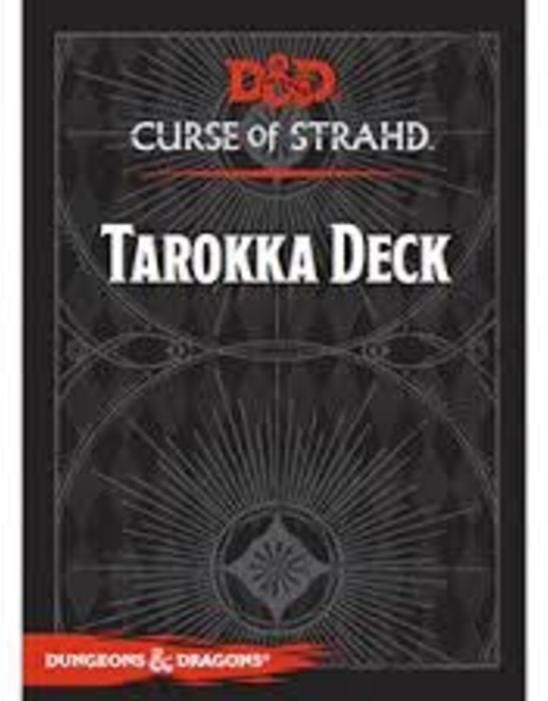 GALE FORCE NINE D&D CURSE OF STRAHD TAROKKA DECK