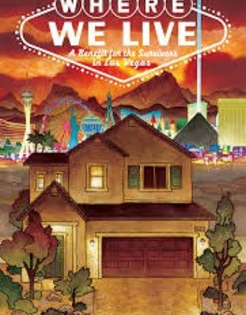 IMAGE COMICS BUY-SELL WHERE WE LIVE LAS VEGAS SHOOTING BENEFIT ANTHOLOGY TP