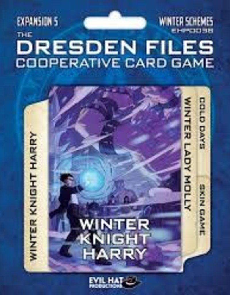 EVIL HAT PRODUCTIONS DRESDEN FILES CO OP TCG EXP 5 WINTER SCHEMES