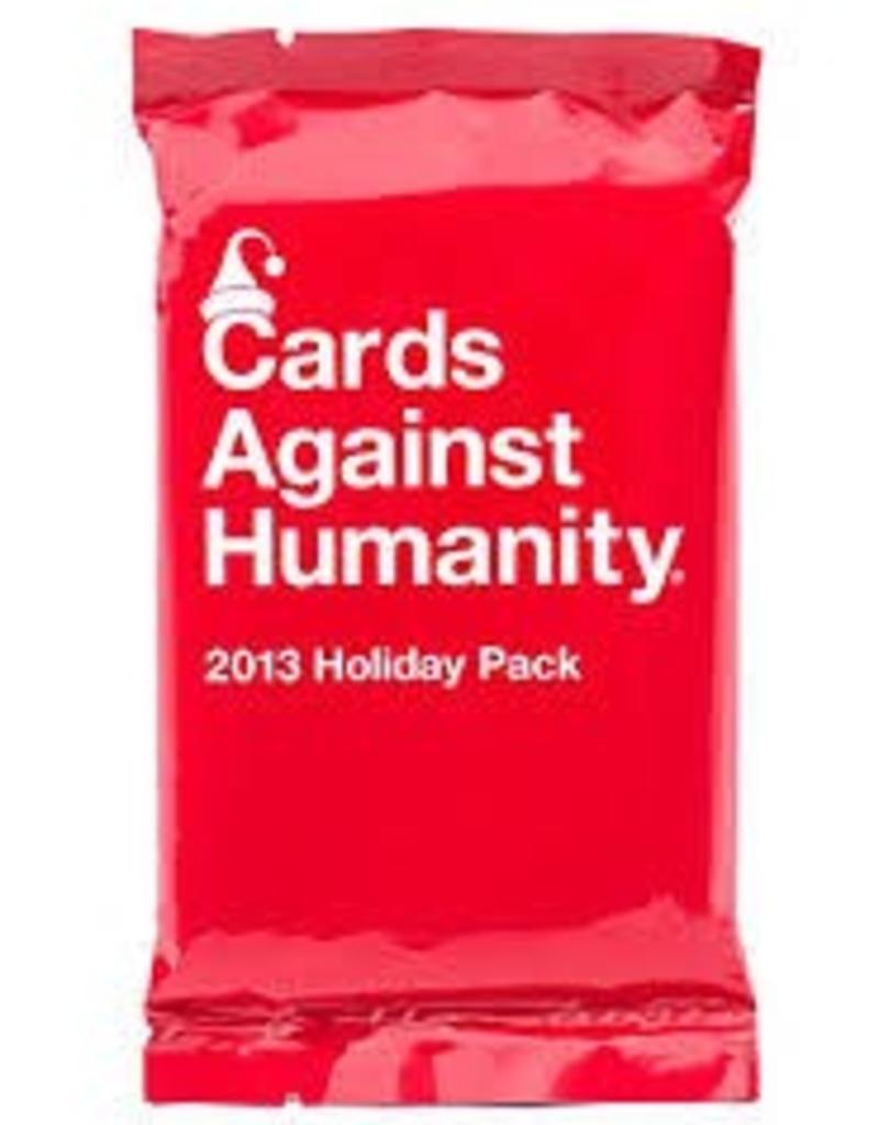 CARDS AGAINST HUMANITY CARDS AGAINST HUMANITY HOLIDAY PACK 2013