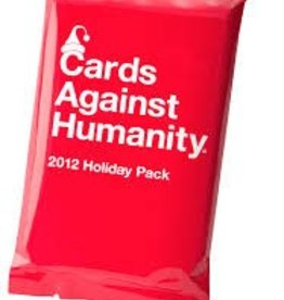 CARDS AGAINST HUMANITY CARDS AGAINST HUMANITY HOLIDAY PACK 2012