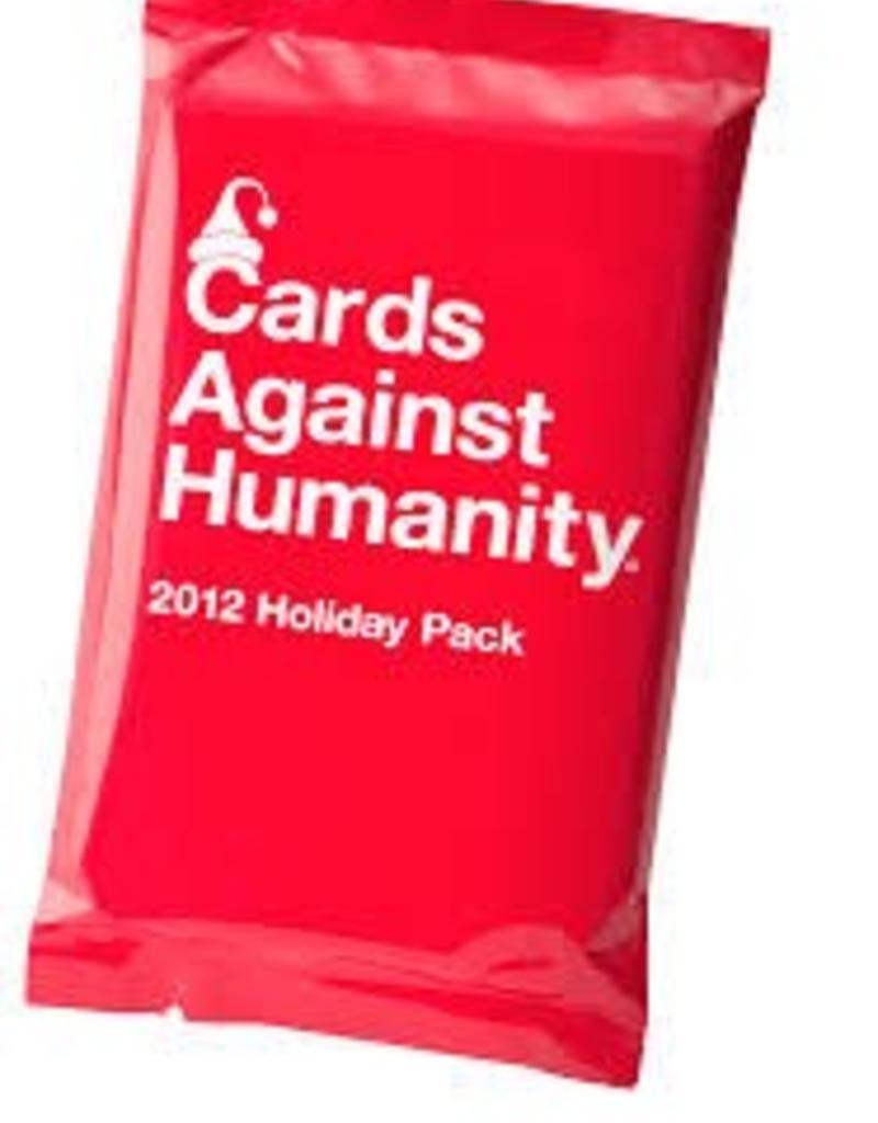 CARDS AGAINST HUMANITY CARDS AGAINST HUMANITY HOLIDAY PACK 2012