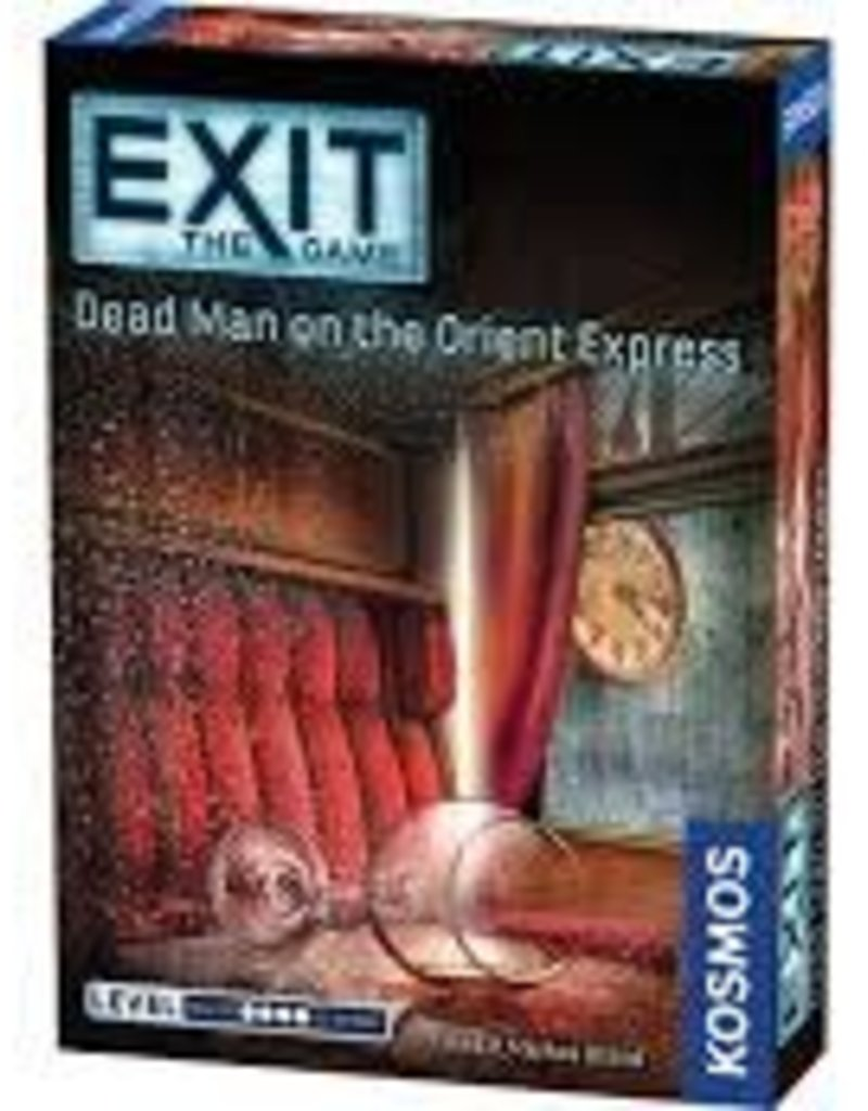 EXIT THE GAME DEAD MAN ON THE ORIENT EXPRESS