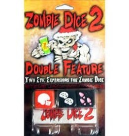 STEVE JACKSON GAMES ZOMBIE DICE 2 DOUBLE FEATURE