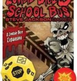 STEVE JACKSON GAMES ZOMBIE DICE 3 - SCHOOL BUS