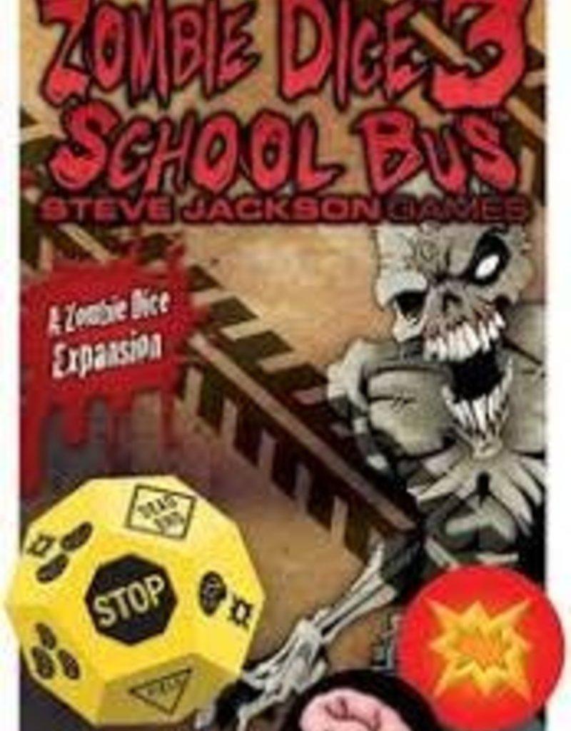 STEVE JACKSON GAMES ZOMBIE DICE 3 - SCHOOL BUS