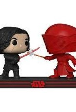 FUNKO POP MOVIE MOMENTS STAR WARS CLASH ON THE SUPREMACY KYLO & GUARD VINYL FIG