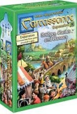 Z-MAN GAMES INC CARCASSONNE NEW EDITION BRIDGES CASTLES AND BAZAARS EXP 08