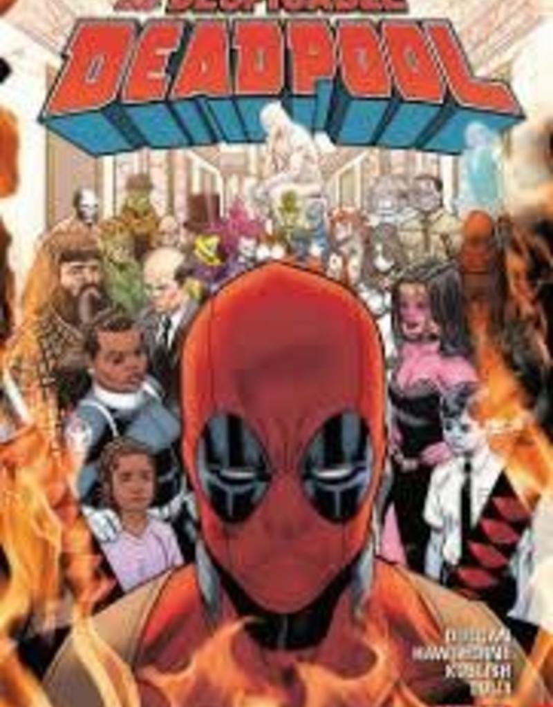 MARVEL COMICS DESPICABLE DEADPOOL TP VOL 03 MARVEL UNIVERSE KILLS DEADPOOL