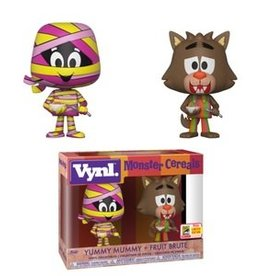 FUNKO VYNL: AD ICONS- 2PK - YUMMY MUMMY & FRUIT BRUTE 2018 SDCC EXCLUSIVE