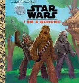 GOLDEN BOOKS STAR WARS LITTLE GOLDEN BOOK I AM A WOOKIE