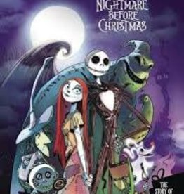 JOE BOOKS INC. DISNEY PIXAR NIGHTMARE BEFORE XMAS MOVIE IN COMICS YA GN
